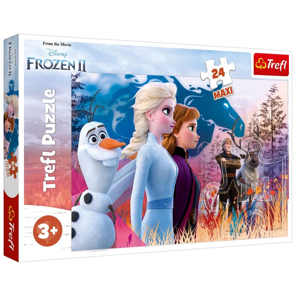 Puzzle Trefl 24 Maxi Frozen2 Calatoria Magica
