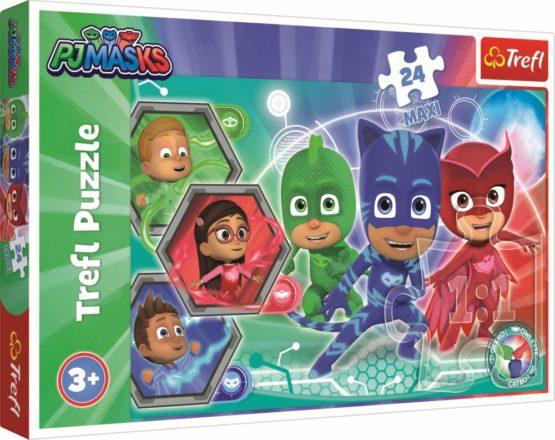 Puzzle Trefl 24 Maxi Eroi In Pijamale