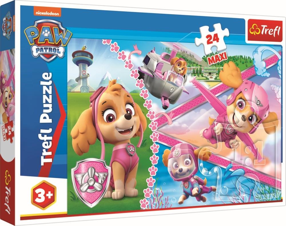 Puzzle Trefl 24 Maxi Eroina Skye