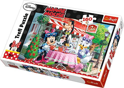 Puzzle Trefl 160 Cu Minnie La Cafea