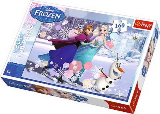 Puzzle Trefl 160 Cu Patinele Pe Lac