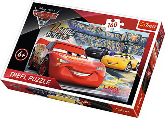 Puzzle Trefl 160 In Viteza Cars3