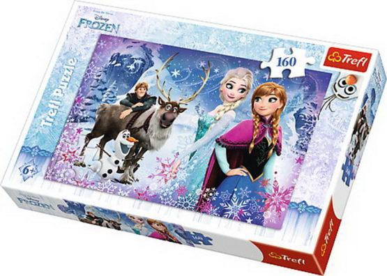 Puzzle Trefl 160 Aventuri Iarna Frozen