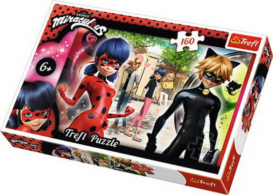 Puzzle Trefl 160 Ai Incredere In Tine Miraculous