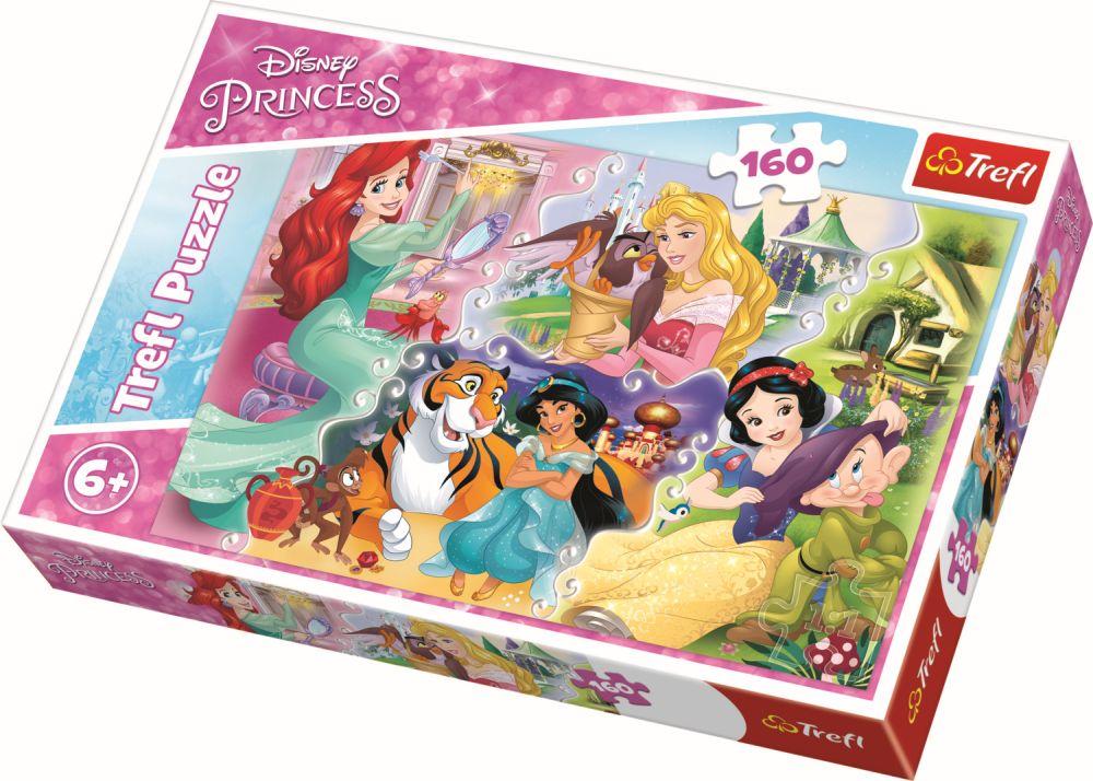 Puzzle Trefl 160 Printese Cu Prieteni