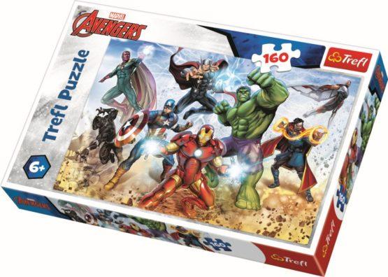 Puzzle Trefl 160 Pregatit Pentru Salvarea Lumii