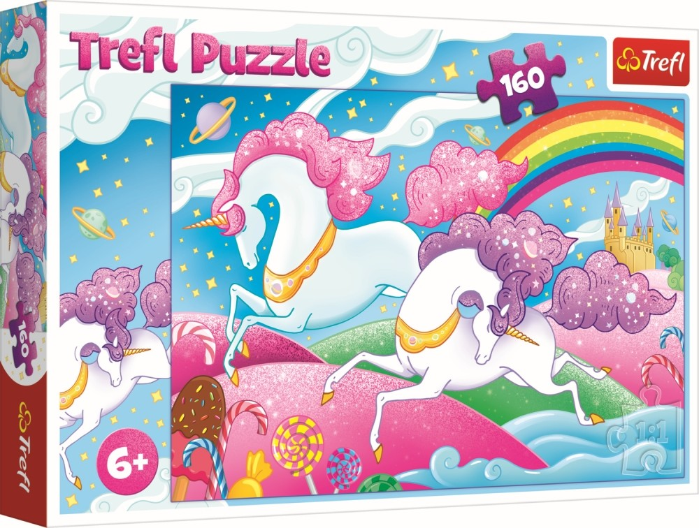 Puzzle Trefl 160 Unicorni