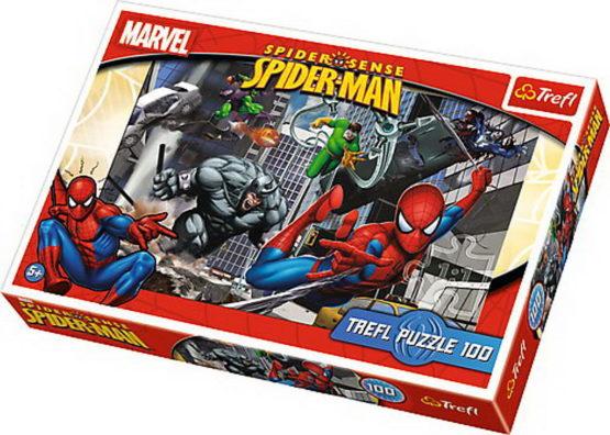 Puzzle Trefl 100 Atacul Lui Spiderman