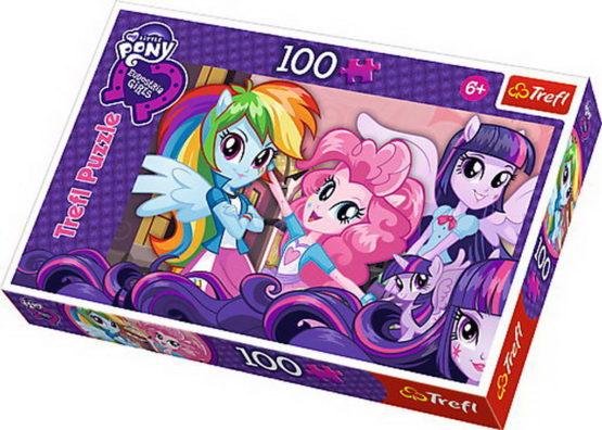 Puzzle Trefl 100 Dupa Scoala Fetele Equestia