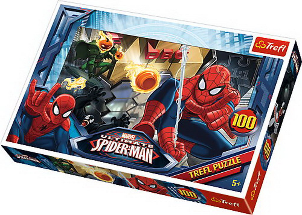 Puzzle Trefl 100 Iesirea Spiderman