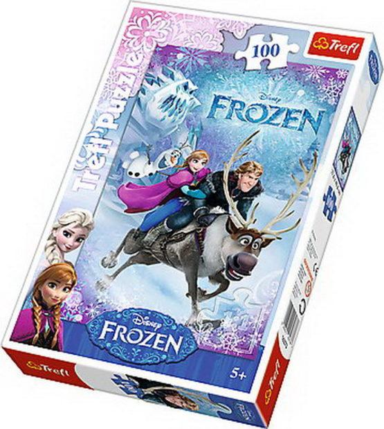 Puzzle Trefl 100 Salvarea Anei Frozen