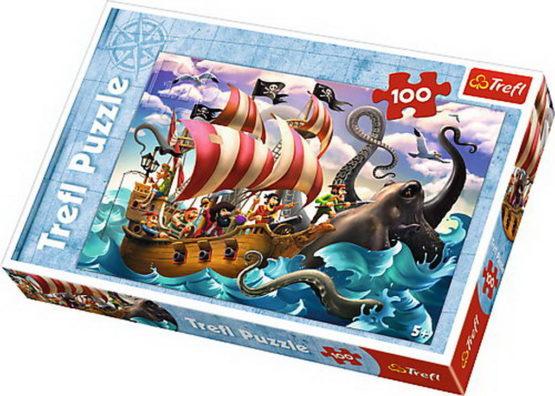 Puzzle Trefl 100 Lupta Pe Mare