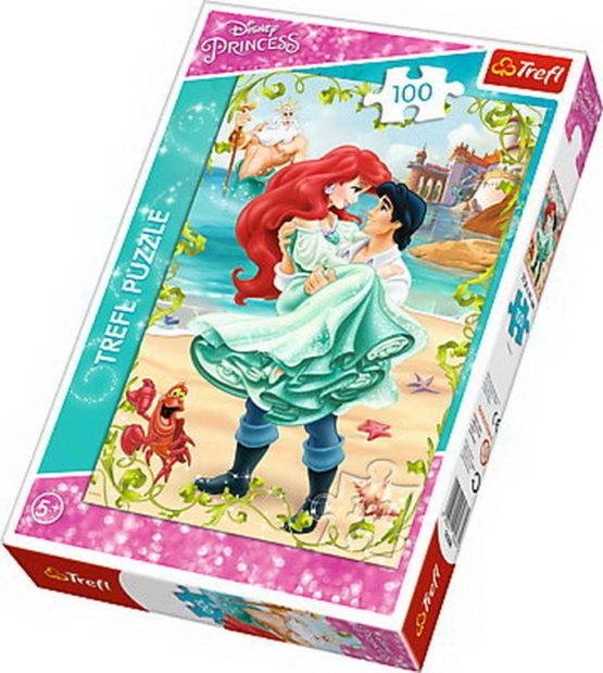 Puzzle Trefl 100 Intalnire Romantica Pe Plaja