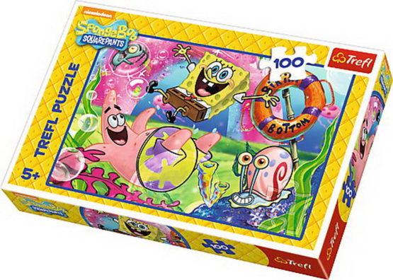 Puzzle  Trefl 100 Spongebob