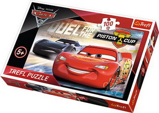 Puzzle Trefl 100 Cupa Piston Cars3