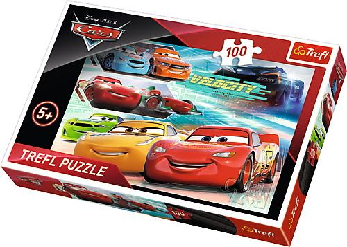 Puzzle Trefl 100 Cursa Eroilor