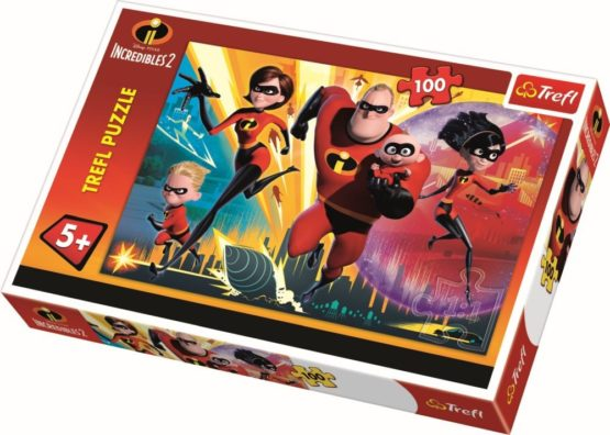 Puzzle Trefl 100 Incredibilii