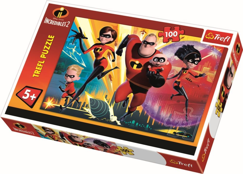 Puzzle Trefl 100 Incredibilii