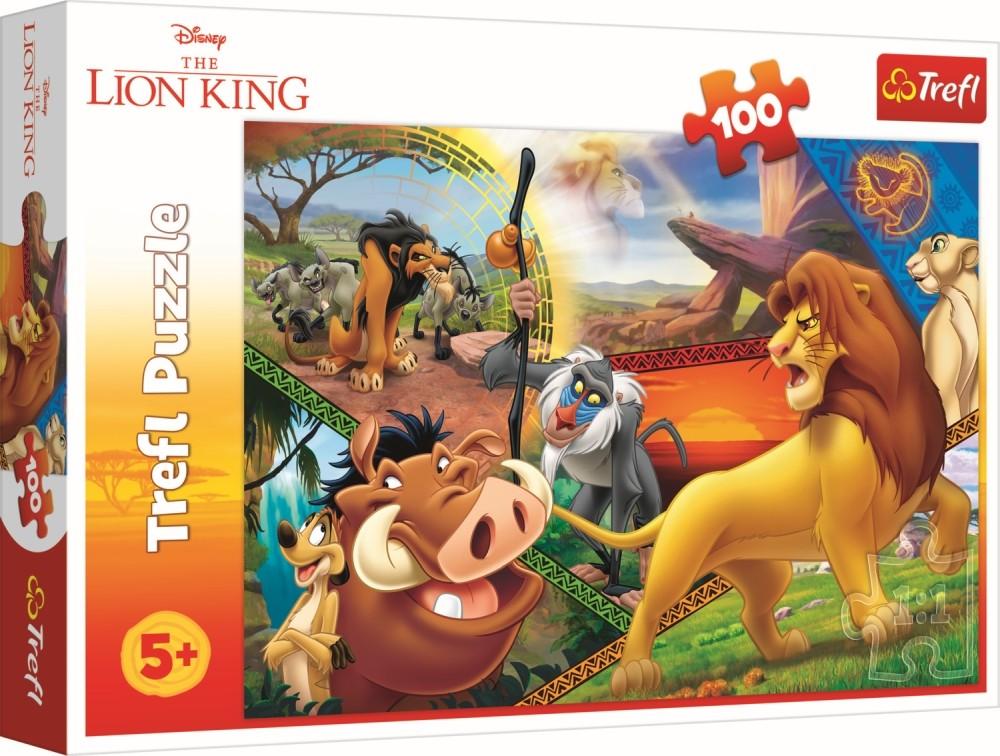 Puzzle Trefl 100 Aventurile Leusorului Simba