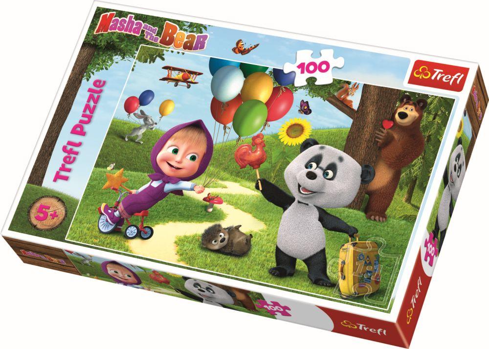 Puzzle Trefl 100 Masha Si Prietenii
