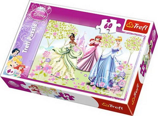 Puzzle Trefl 60 Printese In Gradina Palatului