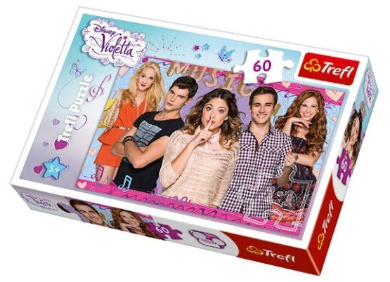 Puzzle Trefl 60 Violeta