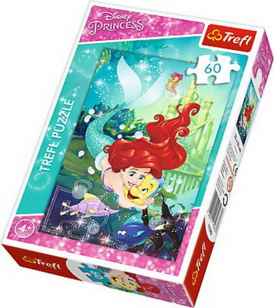 Puzzle Trefl 60 Ariel Si Prietenii Ei