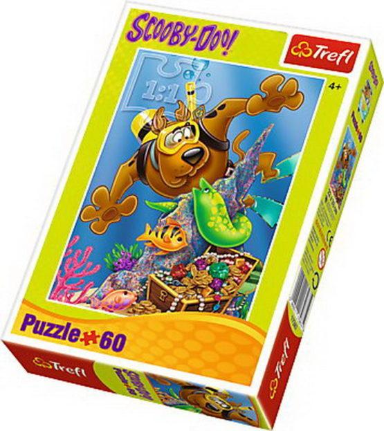 Puzzle Trefl 60 Scufundari Cu Scooby Doo