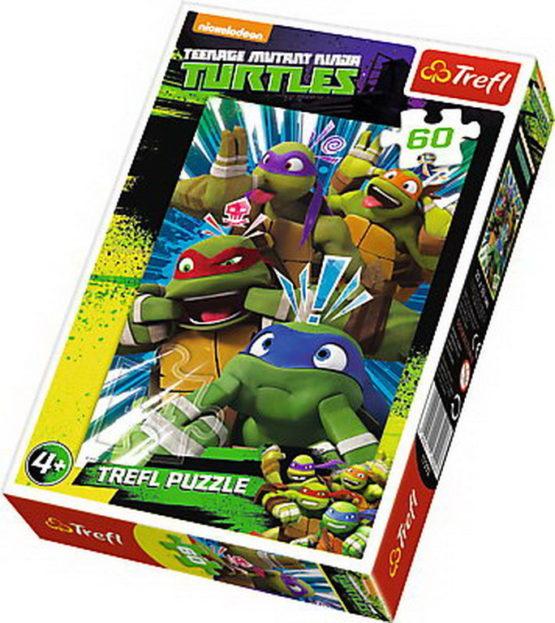 Puzzle Trefl 60 Testoasele Ninja