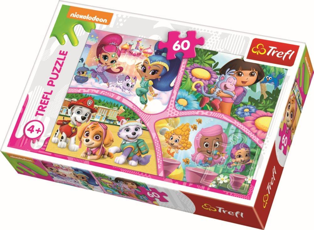 Puzzle Trefl 60 Cei Buni Prieteni