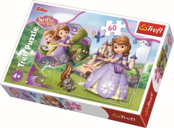 Puzzle Trefl 60 Aventurile Printesei Sofia