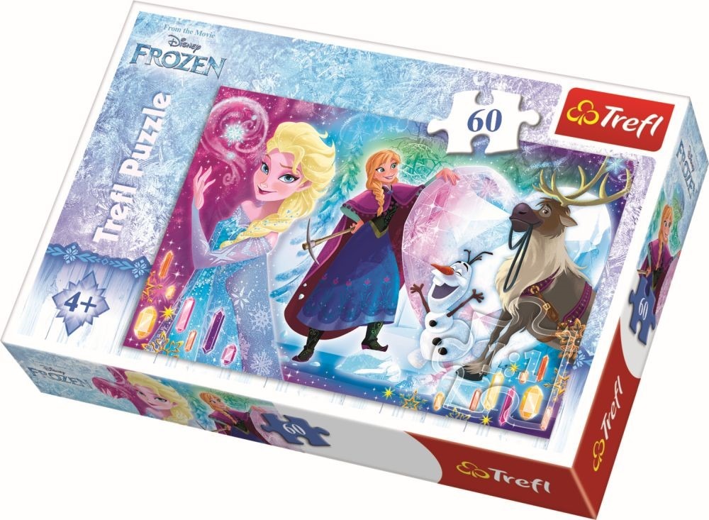 Puzzle Trefl 60 Surpriza Pentru Elsa
