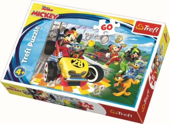Puzzle Trefl 60 La Raliu Cu Prietenii