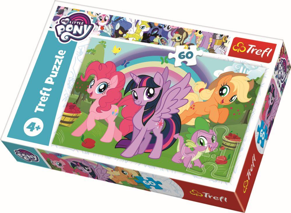 Puzzle Trefl 60 Curcubeul Prieteniei
