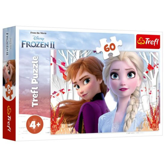 Puzzle Trefl 60 Frozen2 Ana Si Elsa