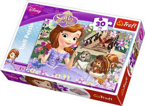 Puzzle Trefl 30 Sofia Si Prietenii Ei