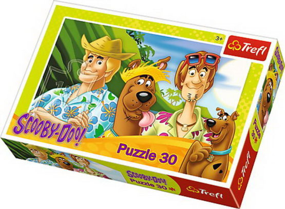 Puzzle Trefl 30 Scooby Doo In Vacanta