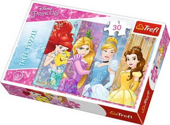 Puzzle Trefl 30 Frumoasele Printese