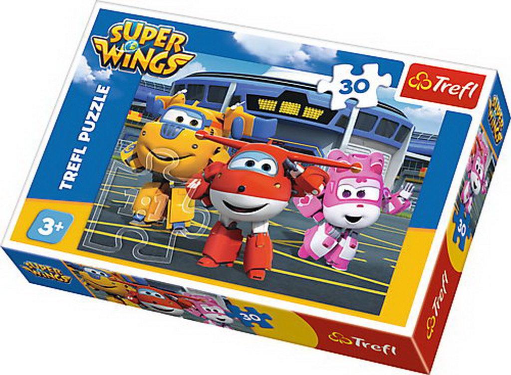 Puzzle Trefl 30 Prieteni In Hangar