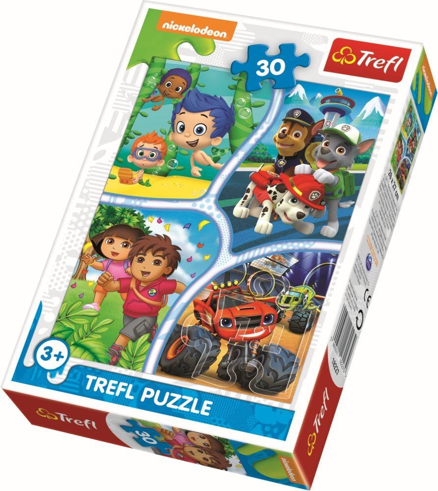 Puzzle Trefl 30 Distractie Si Aventura