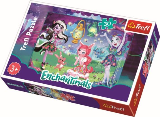 Puzzle Trefl 30 Magia Enchantimals