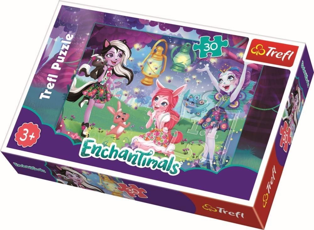 Puzzle Trefl 30 Magia Enchantimals
