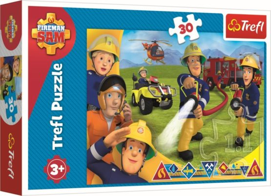 Puzzle Trefl 30 Pregatit Pentru A Ajuta