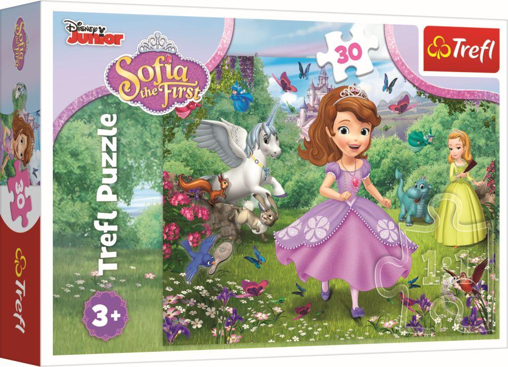 Puzzle Trefl 30 Printesa Sofia In Gradina
