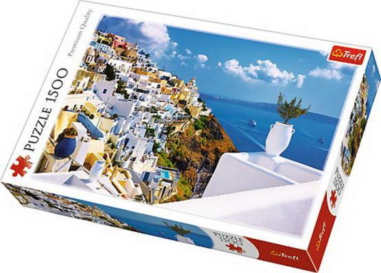 Puzzle Trefl 1500 Santorini