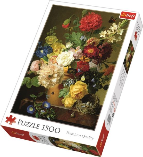 Puzzle Trefl 1500 Pictura Flori