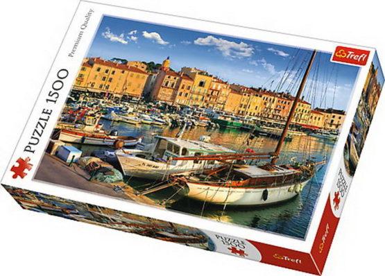 Puzzle Trefl 1500 Port Vechi In Saint Tropez