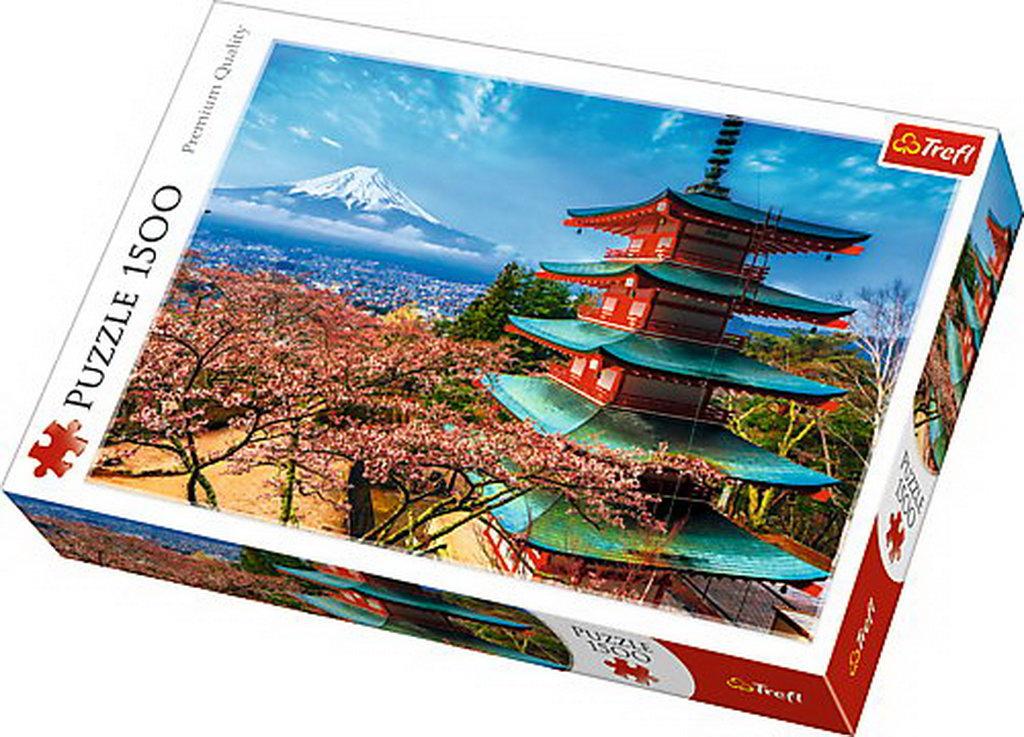 Puzzle Trefl 1500 Muntele Fuji