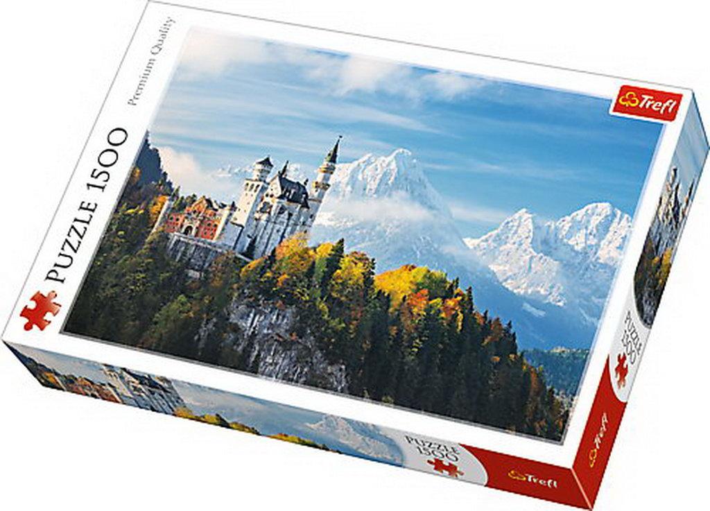 Puzzle Trefl 1500 Alpii Bavarezi