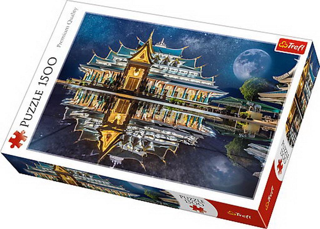 Puzzle Trefl 1500 Templu Phu Kon Tailanda